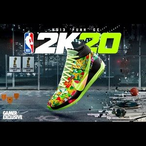 Kd 13 funk ge 2k20 new with box size size 10